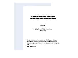 Pilot-Employment-Program